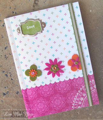Off-the-page project using Stampin' Up! supplies