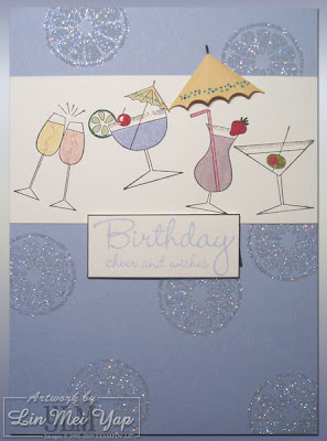 My first card for the Stampin' Up! Australia year