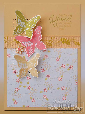 Card made using Stampin' Up! products