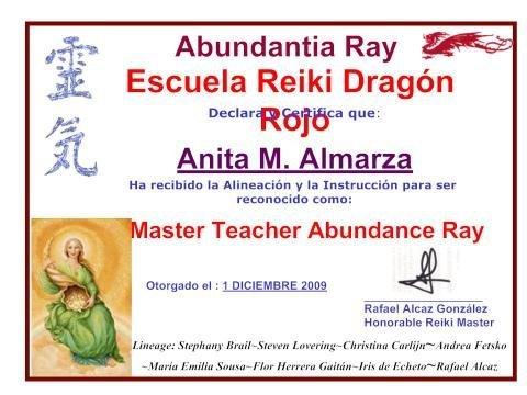 Reiki Master Sanacion Abundancia