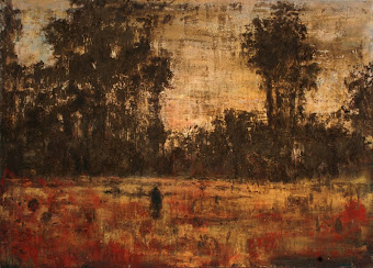 Figure in a Field 44''x60