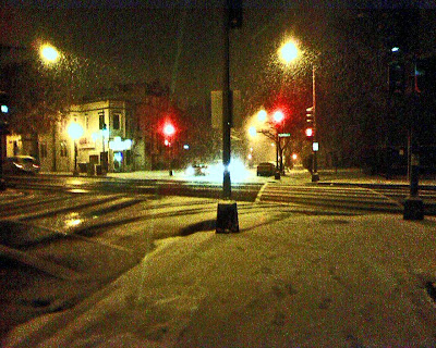 very snowy District