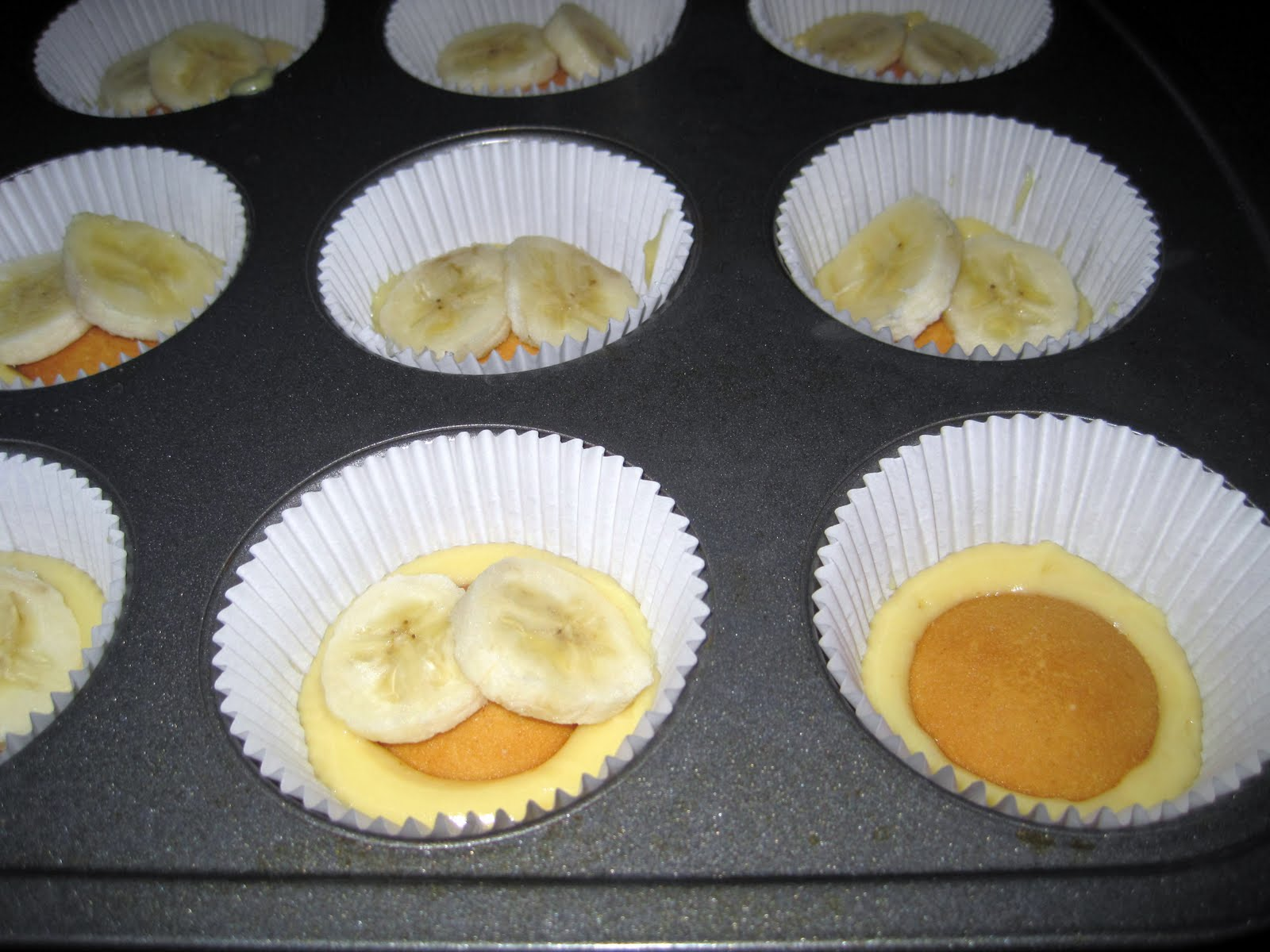 How To Make Banana Cupcakes With Cake Mix