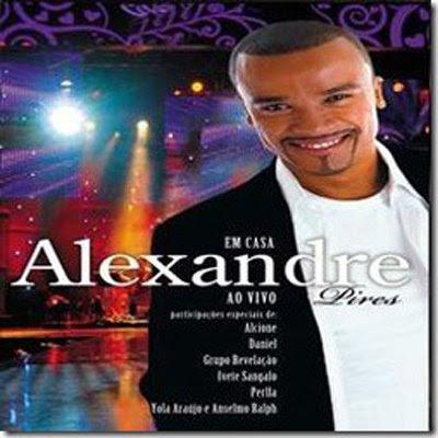 Capa do CD Alexandre Pires - Em Casa Ao Vivo