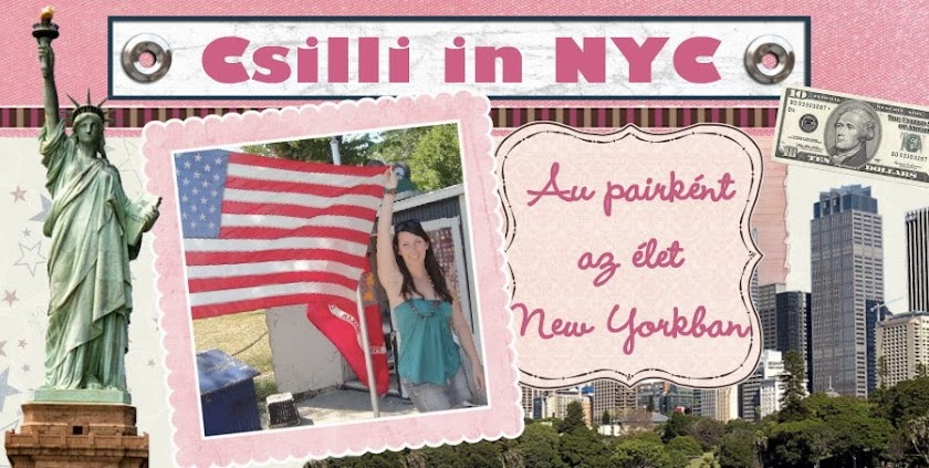 Csilli in NYC