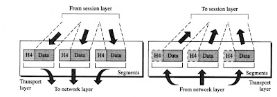 Transport layer in a network model