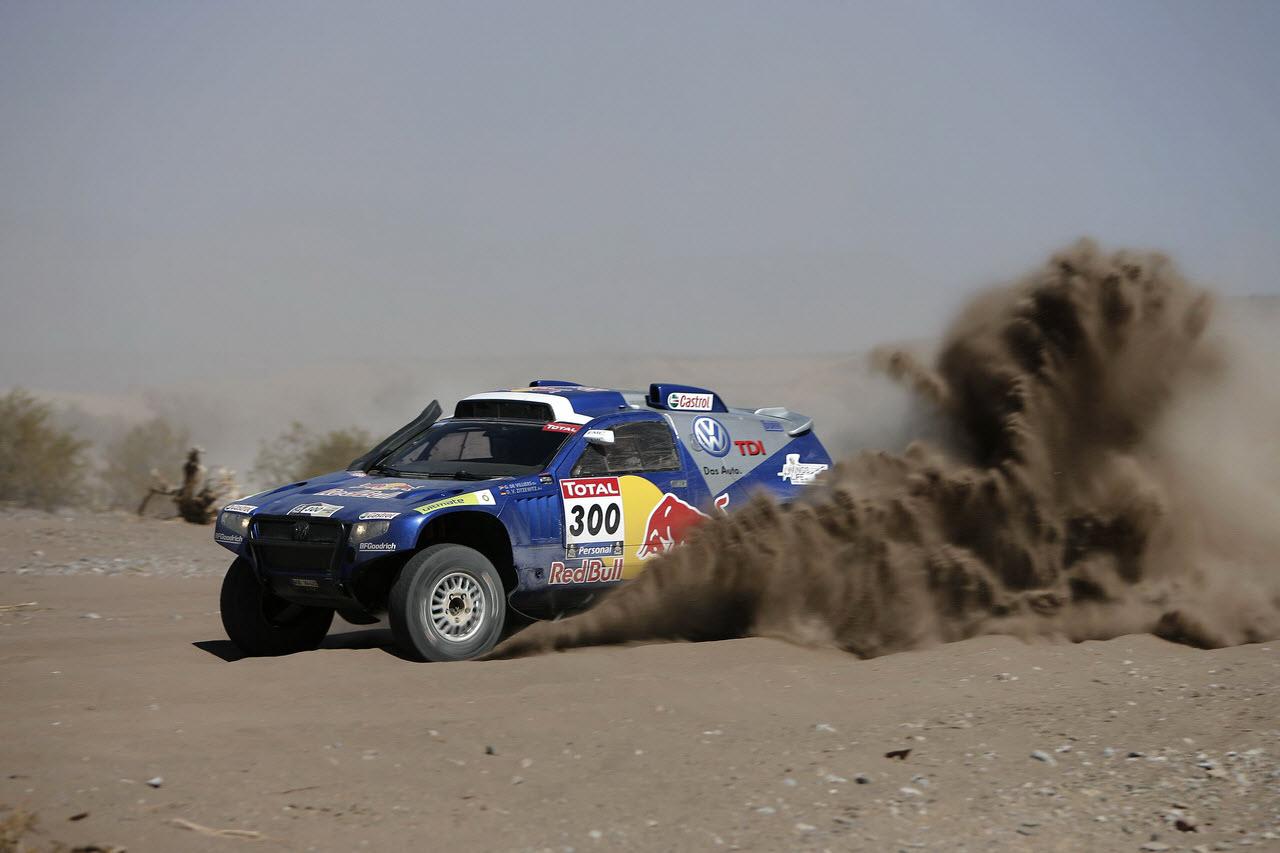 Volkswagen win Dakar