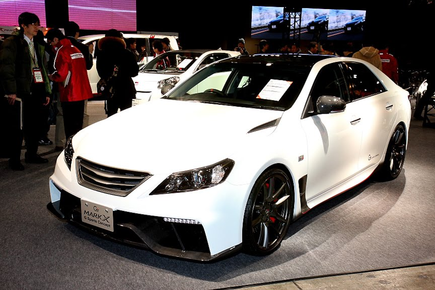 Toyota Mark X G Sports Concept 2010