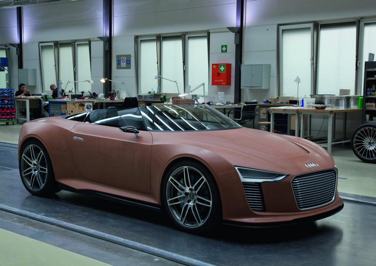 The creation of the Audi e-tron Spyder
