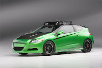 Honda CR Z At SEMA 2010