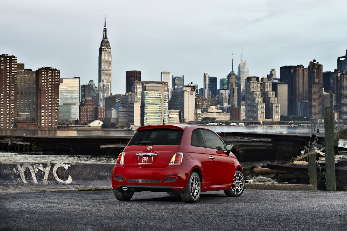 2011 Fiat 500 U.S. Version