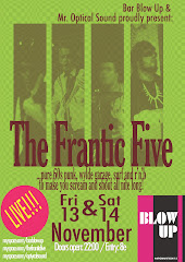 frantic v live at Blow up