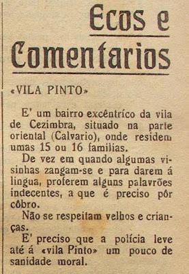 1939 - jornal 'O Sesimbrense'