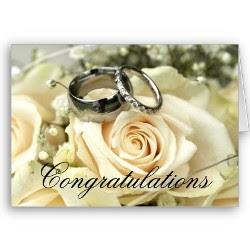 Cartões para casamentos