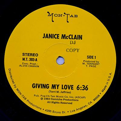 Janice McClain Burnin Up