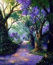 un pequeño bosque