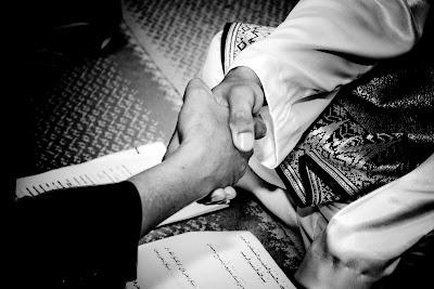 pernikahan dan perkahwinan ,nora dan sham