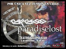 ¡¡¡CARCASS Y PARADISE LOST!!! en chile Mierda____