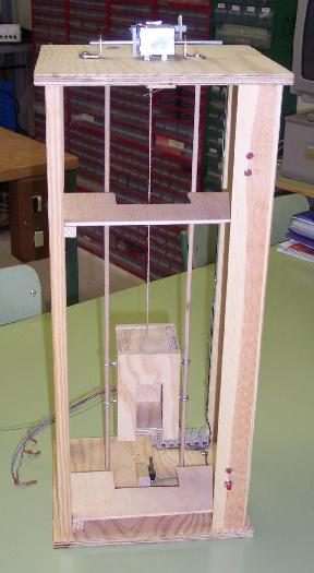 Explicaci n del funcionamiento ascensor casero for Materiales para hacer un ascensor