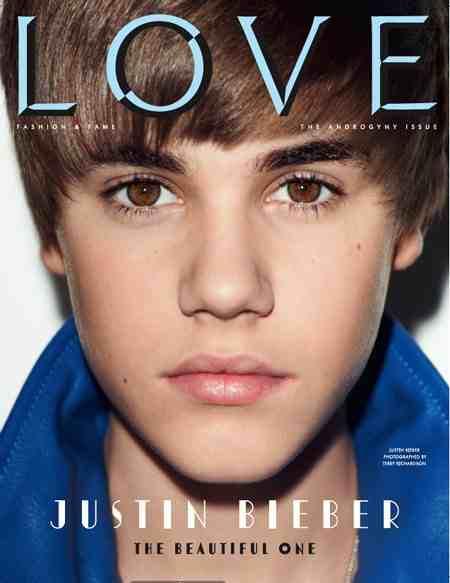 Justin Bieber Love Magazine. justin bieber love magazine