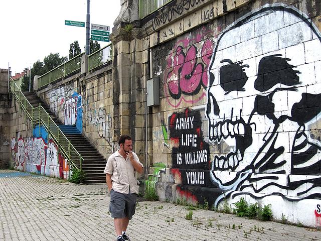 Graffitis de Calaveras
