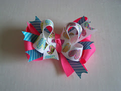 Check out this adorable site!  Bows, pillowcase dresses, diaper cakes and more!