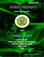 Cover Makalah Fiqih Muamalah mengenai Akad