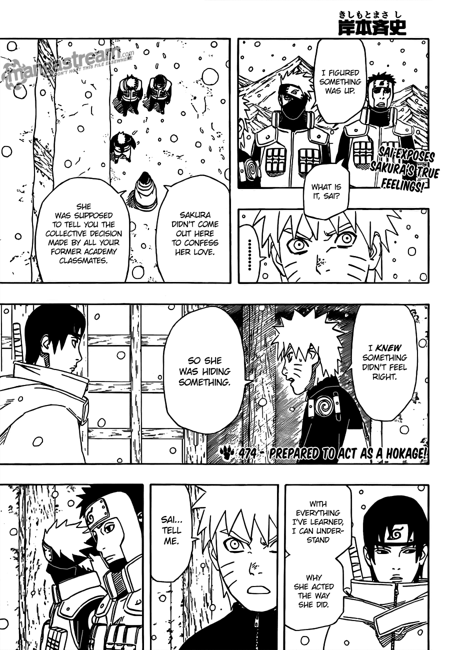 Read Naruto 474 Online | 01 - Press F5 to reload this image