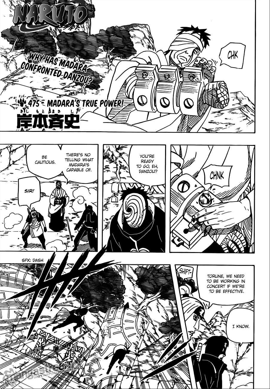 Read Naruto 475 Online | 01 - Press F5 to reload this image