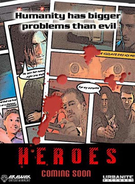"Short film ""Heroes"" Movie poster"