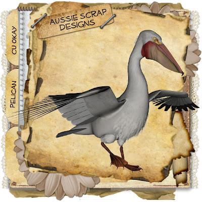 Pelican - By: Aussie Scrap Designs Pelican_Preview