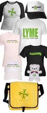 Lyme Disease TShirts, Hats, Mugs, Bags, Gifts & More!