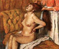 Edgar Degas, Woman having her hair combed