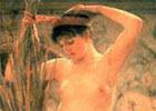 Sir Lawrence Alma-Tademah, la modelo del escultor
