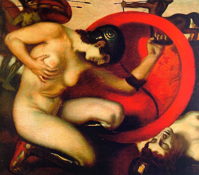 Franz Von Stuck, Amazona herida