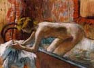 Edgar Degas, Woman leaving her bath, 1886 - 1888