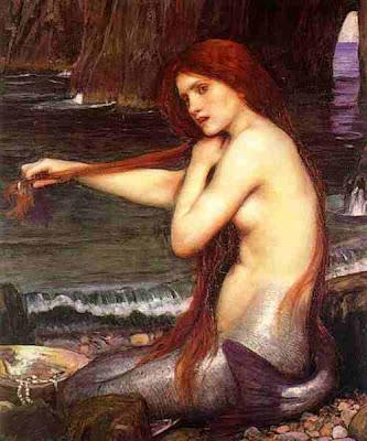 Waterhouse, A mermaid, 1900