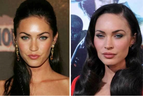 megan fox lip job. megan fox lip job.