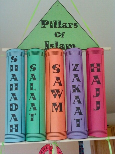 Pillars of Islam Mobile   Umm Abdul Basir's Creative Corner