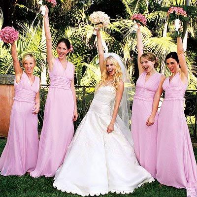 Знаменитые невесты в платьях Веры Вонг.
