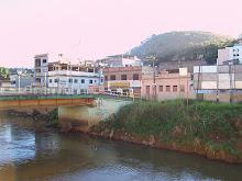 Carangola - Ponte sobre o rio