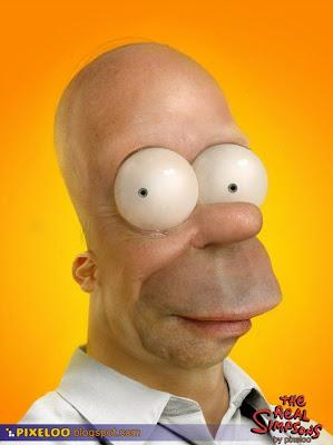 Foto 0 en  - Homero en la vida real