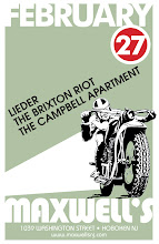 Lieder, The Brixton Riot and the Campbell Apartment at Maxwells