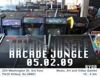 Arcade Jungle Party : 100 plus vintage video games, music, BYOB