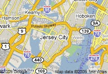 JC Art Tour Google Map