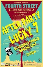 4th Street Art and Music After Party at Lucky 7's
