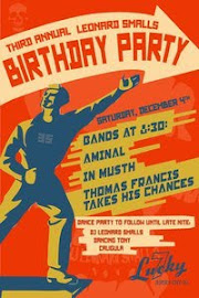 3rd annual dj leonard smalls birthday bash
