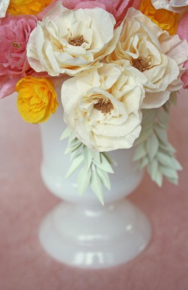Faça você mesmo: Flores de Papel Crepom