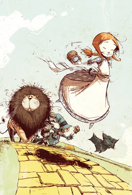 Ilustração: O Mágico de Oz