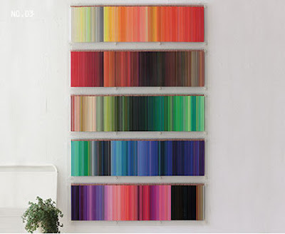 500 lápis de cor